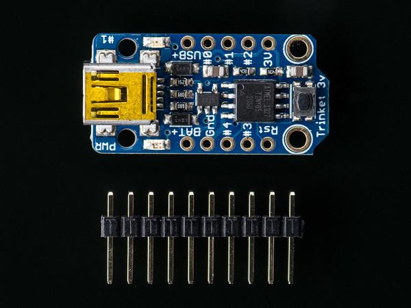 Adafruit Trinket - Mini Microcontroller - 3.3V Logic