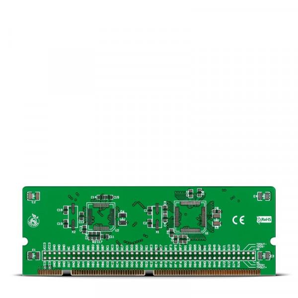 LV18F v6 64-100-pin Ethernet TQFP MCU Card Empty PCB