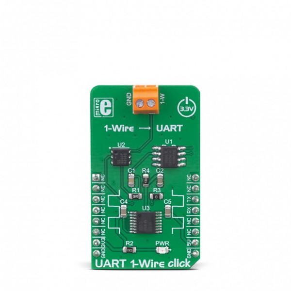 UART 1-Wire Click