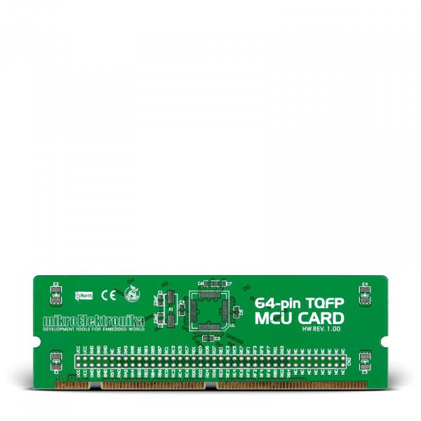 BIGPIC6 64-pin TQFP MCU Card Empty PCB