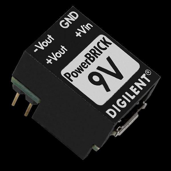 9V PowerBRICK: Breadboardable Dual Output USB Power Supplies