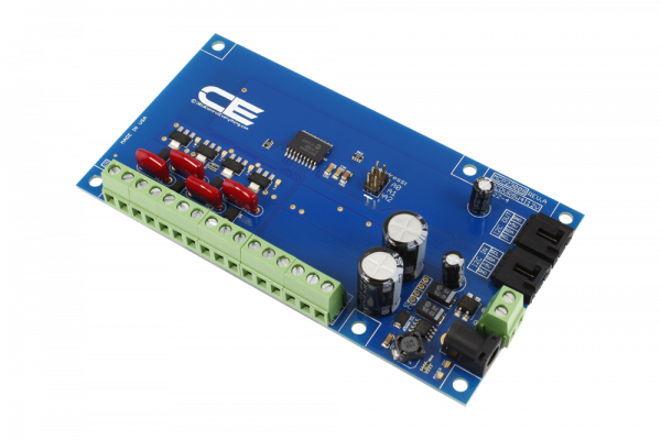 MCP23008 4-Channel 8W 12V FET Solenoid Driver Valve Controller 4-Channel GPIO with I2C Interface
