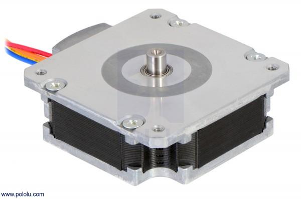 Sanyo Pancake Stepper Motor: Bipolar, 200 Steps/Rev, 50×16mm, 5.9V, 1 A/Phase