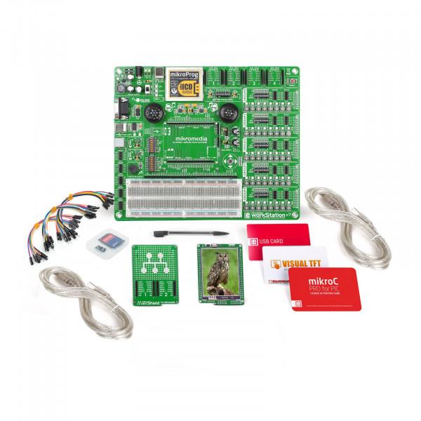mikroLAB for mikromedia - PIC18FK mikroC