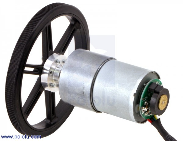 Pololu Universal Aluminum Mounting Hub 6mm Shaft 4-40 Holes (2-Pack)