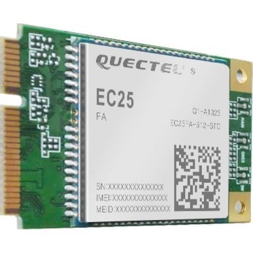 Quectel EC25 Mini PCle 4G/LTE Module