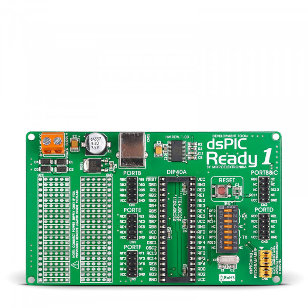 dsPIC-Ready1 Board