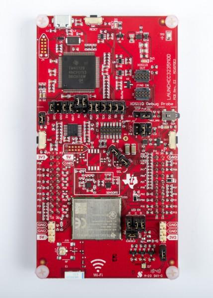 SimpleLink Wi-Fi CC3235MODSF LaunchPad development kit