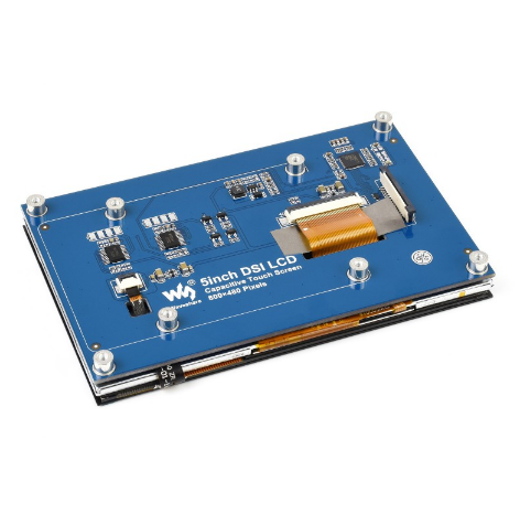 5inch Capacitive Touch Display for Raspberry Pi, DSI Interface, 800×480