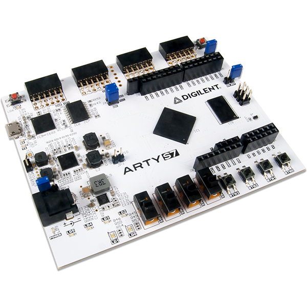Arty S7-25T: Spartan-7 FPGA Board for Hobbyists and Makers