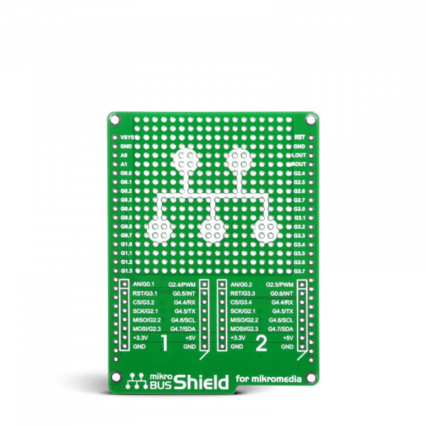 mikroBUS Shield for mikromedia