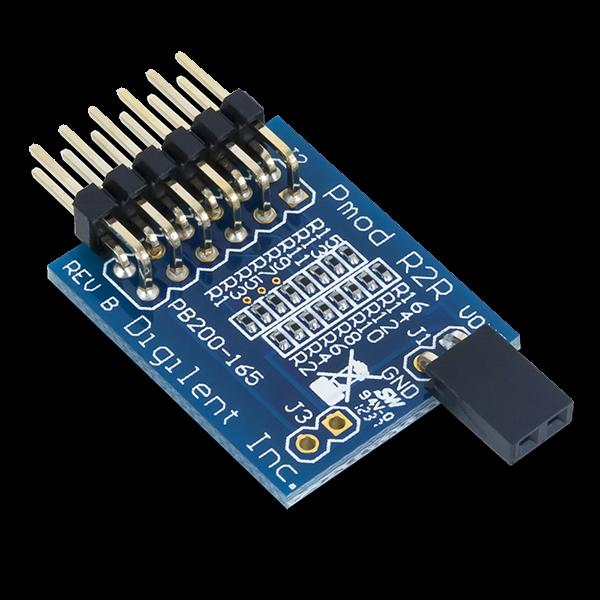 Pmod R2R: Resistor Ladder D/A Converter
