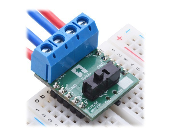 Big MOSFET Slide Switch with Reverse Voltage Protection, MP