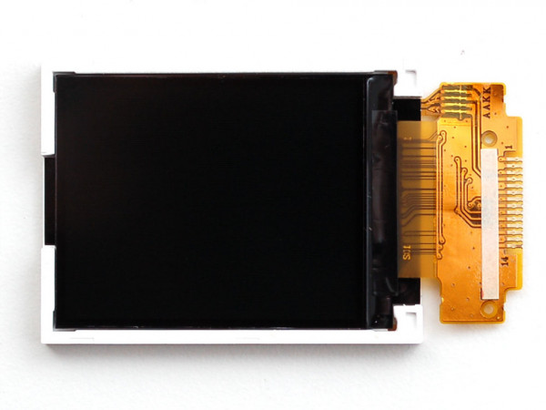 "1.8"" SPI TFT display 160x128 18-bit-ST7735R driver"