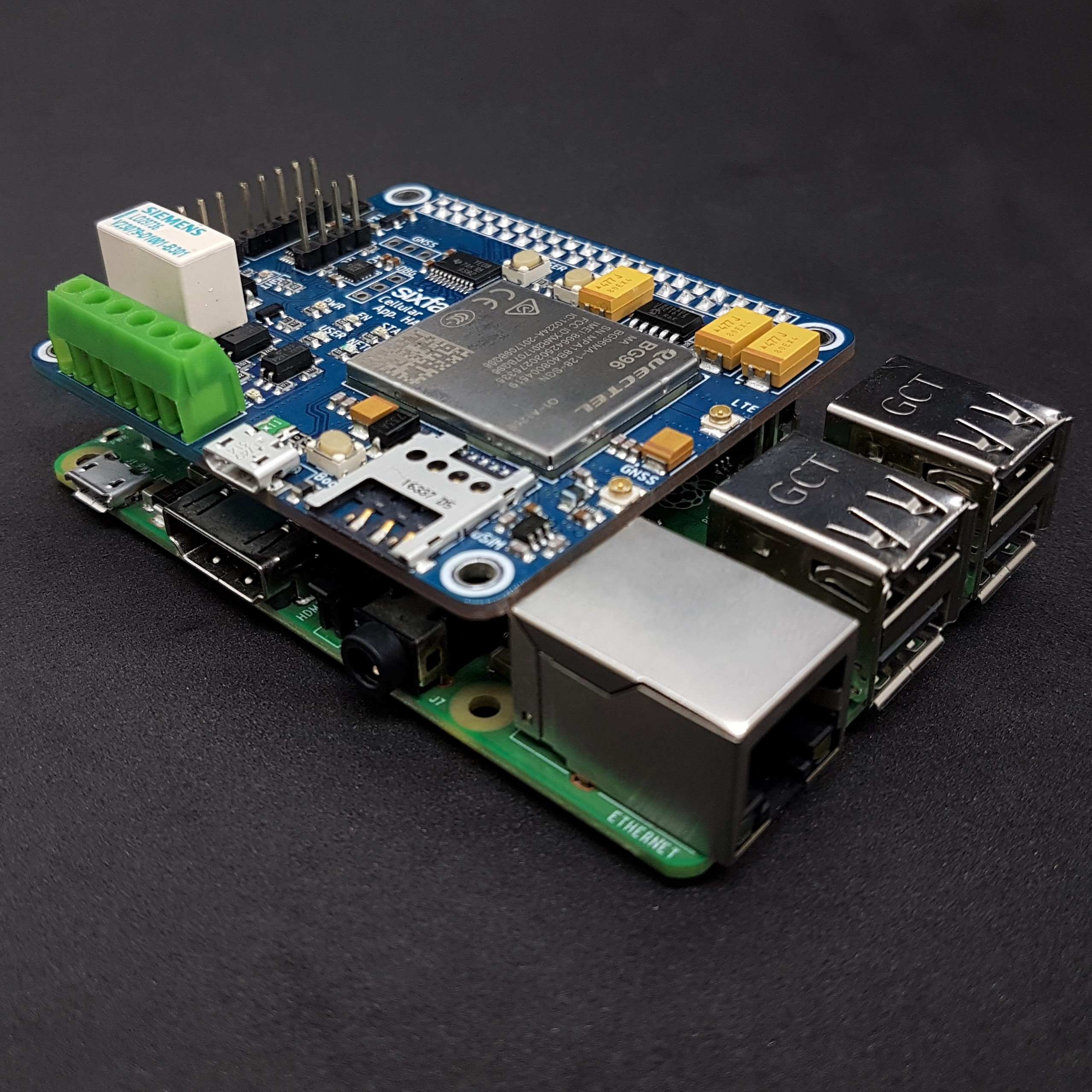 Raspberry Pi Cellular IoT Application Shield – LTE-M & NB-IoT & eGPRS
