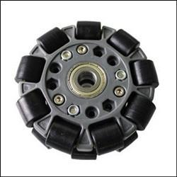 Mecanum Omni Directional Wheel -100mm Double Plastic