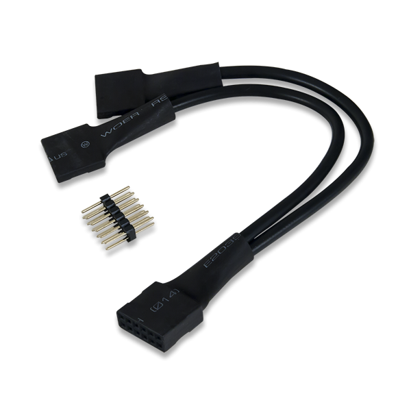 2x6-pin to Dual 6-pin Pmod Splitter Cable