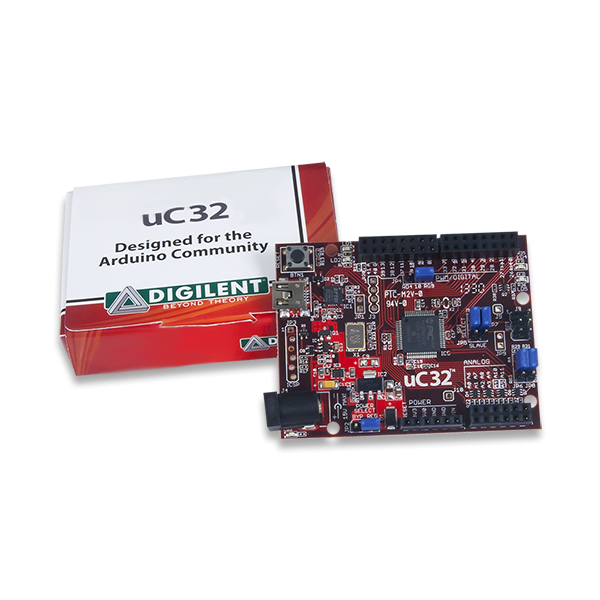 uC32: Arduino-programmable PIC32 Microcontroller Board