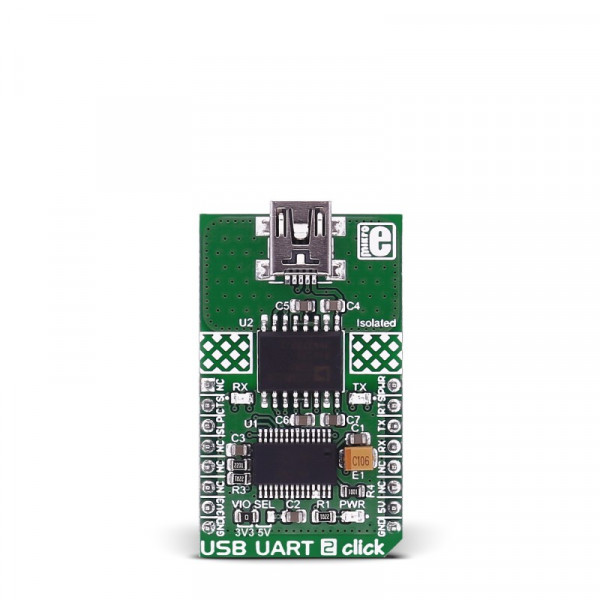 USB UART 2 Click