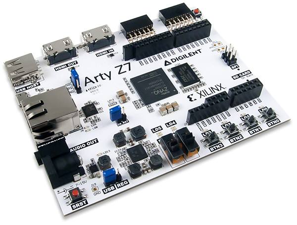 Arty Z7-20 With Zynq SDSoC Voucher: APSoC Zynq-7000 Development Board for Makers and Hobbyists