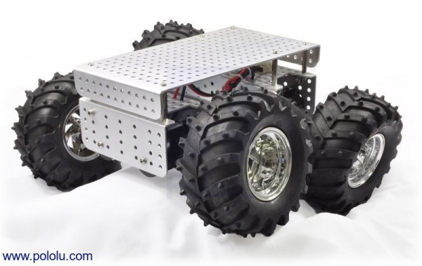 Wild Thumper 4WD All-Terrain Chassis, Silver, 75:1