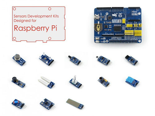 Raspberry Pi Sensor Development Kit