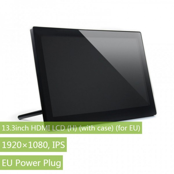 13.3inch HDMI LCD (H) (with case) (for EU), 1920x1080, IPS