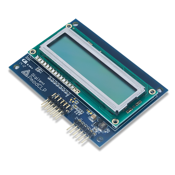 Pmod CLP: Character LCD with Parallel Interface