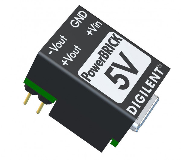 5V PowerBRICK: Breadboardable Dual Output USB Power Supplies
