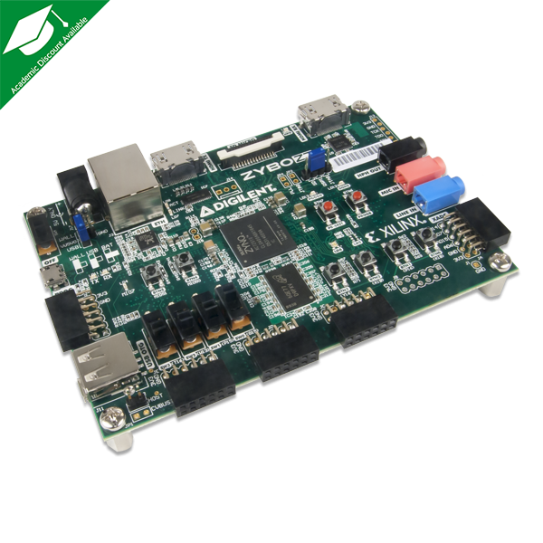 Zybo Z7-20 with SDSoC Voucher: Zynq-7000 ARM/FPGA SoC Development Board
