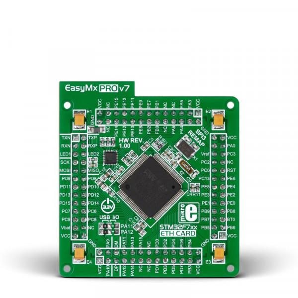 EasyMx PRO v7 for STM32 MCUcard with STM32F746VGT6