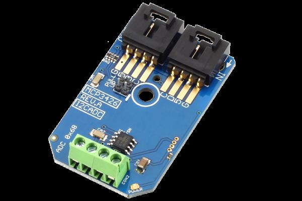 MCP3426 16-Bit 2-Channel Analog to Digital Converter I2C Mini Module