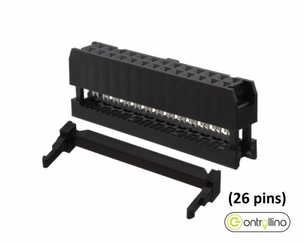 26-way IDC Socket for Pinheader Connector (MINI, MAXI & MEGA)