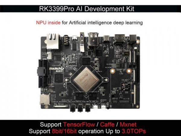 Toybrick RK3399Pro AI Development Kit 6G+32GB