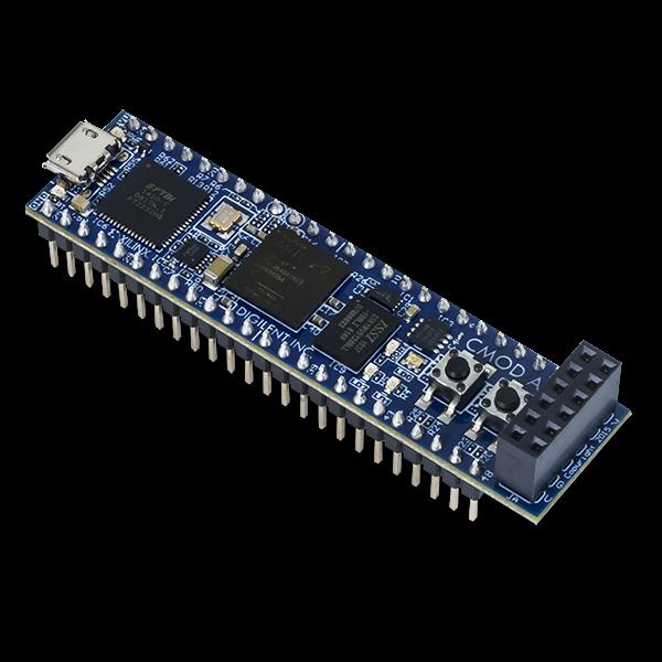 Cmod A7-15T: Breadboardable Artix-7 FPGA Module