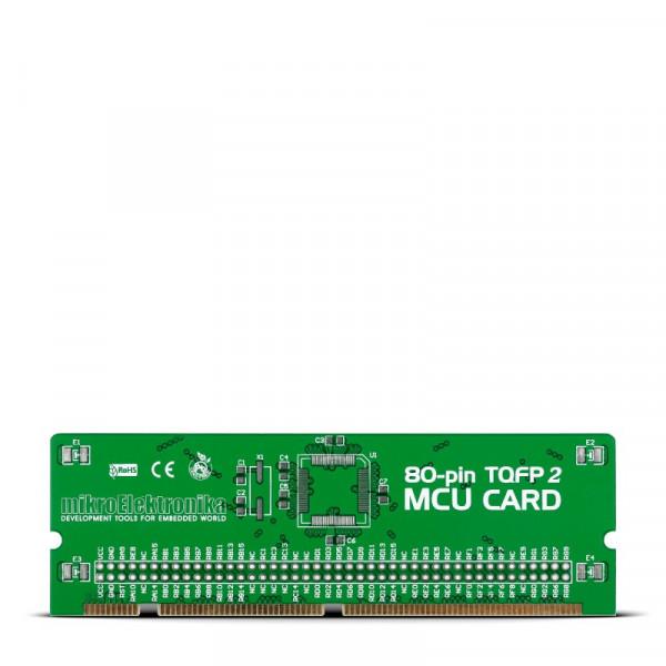 BIGdsPIC6 80-pin TQFP 2 MCU Card Empty PCB