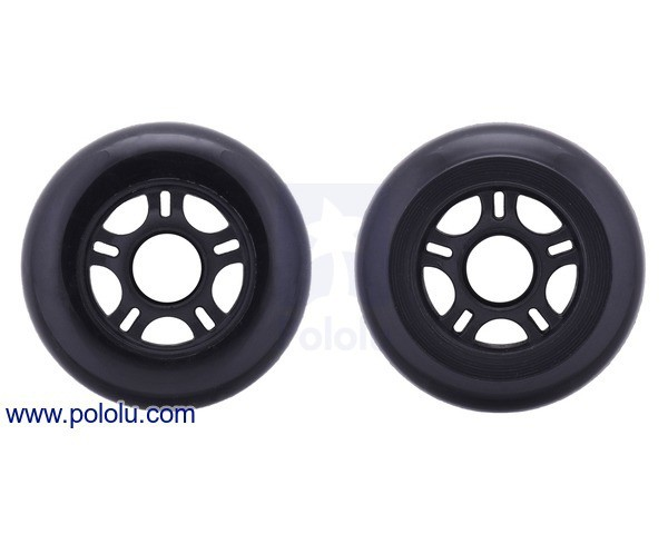 Scooter/Skate Wheel 84×24mm - Black