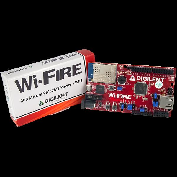 Wi-FIRE: WiFi Enabled PIC32MZ Microcontroller Board