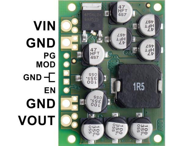 Pololu 6V, 15A Step-Down Voltage Regulator D24V150F6
