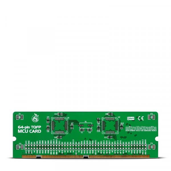 BIGdsPIC6 64-pin TQFP MCU Card Empty PCB