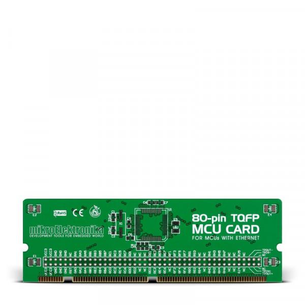 LV18F v6 80-pin Ethernet TQFP MCU Card Empty PCB