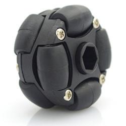 38mm(1.5 inch) Double Plastic Omni Wheel