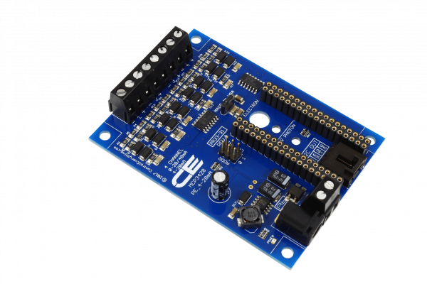 MCP3428 4-Channel 4-20mA 16-Bit Current Receiver with IoT Interface