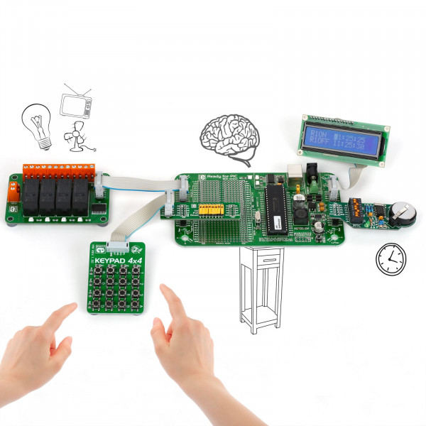 Let's make - Programmable Timer Relays (PIC)