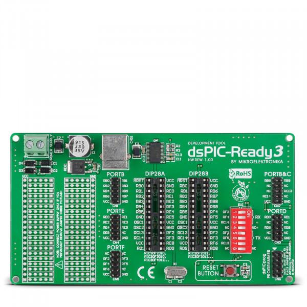 dsPIC-Ready3 Board