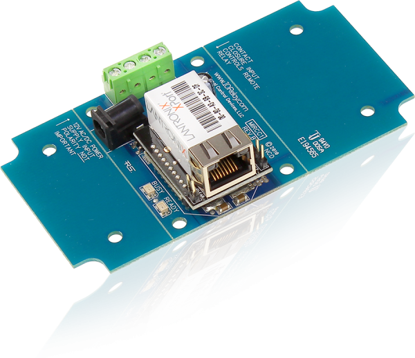 1-Channel Push Notification Contact Closure Input over Ethernet