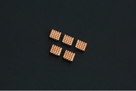 Pure Copper Heatsink Pack x 5