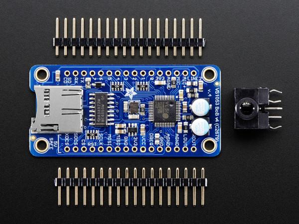 VS1053 Codec + MicroSD Breakout - MP3/WAV/MIDI/OGG Play + Record - v2
