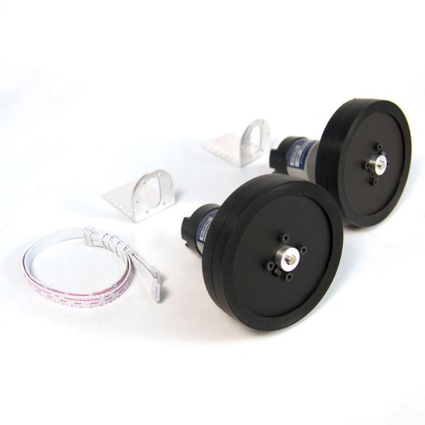 Robot DC Gearhead Motor & Wheel Starter Kit