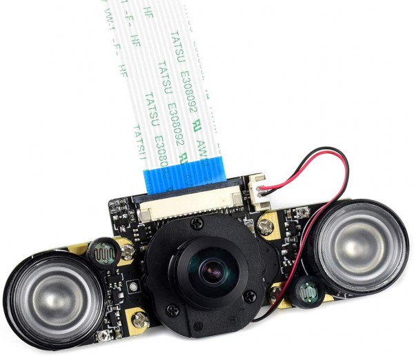 IMX219-160 8MP IR-CUT Camera, 162° FOV, IR-CUT Infrared, Applicable For Jetson Nano / Compute Module